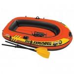 Лодка Интекс Explorer PRO-200 (set) с веслами и насосом